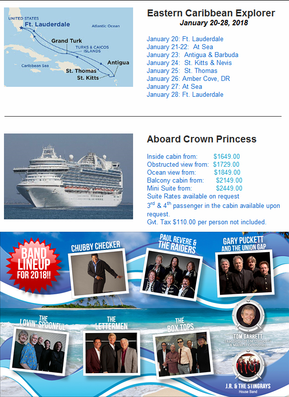 Concerts At Sea - Where The Action Is