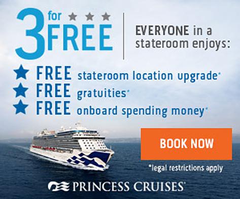 Concerts At Sea  - 2018 ALASKA - 3 for Free Offer