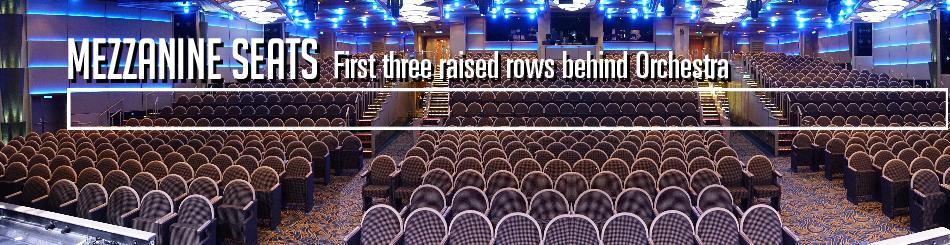Princess Cruise Regal Theatre - Concerts At Sea