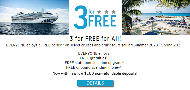 3-For-Free - Concerts At Sea